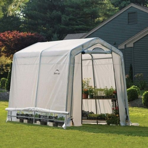 6x8 Shelter Logic Greenhouse in a box