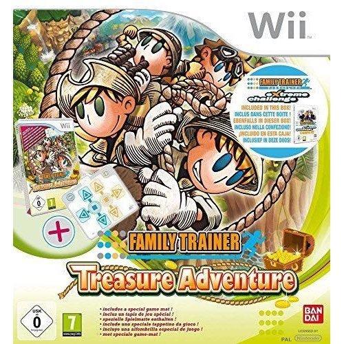Family Trainer Treasure Adventure Standalone Game - Nintendo Wii/WiiU Game