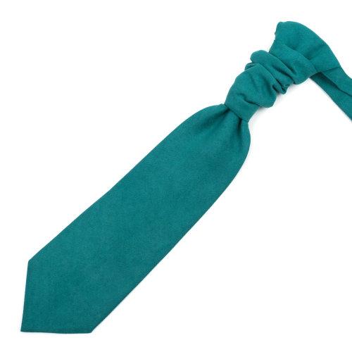 Bottle Green Suede Cravat #AB-WCR1006/16
