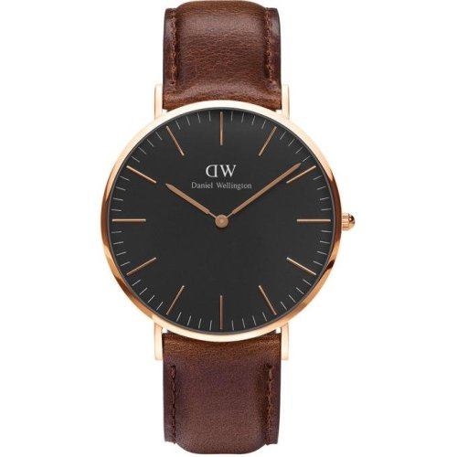 Daniel Wellington Bristol DW00100125 Watch Brown Leather Man