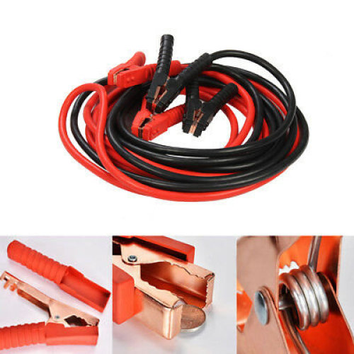 UK 3000AMP Heavy Duty Battery Jump Start Leads 6 Metres Booster Cables Car Van