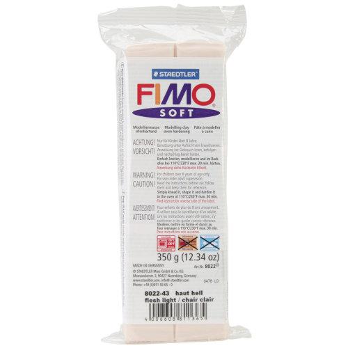 Fimo Soft Polymer Clay 12.34oz-Pink Flesh