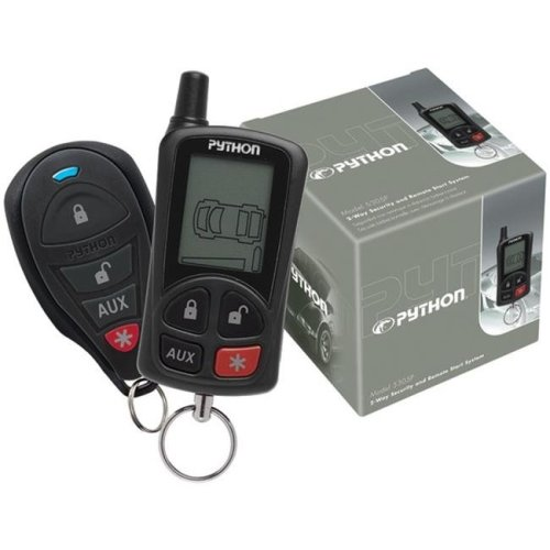 Pyhton 5305P LCD 2-Way Security & Remote-Start System with .25-Mile Range & 2 Remotes