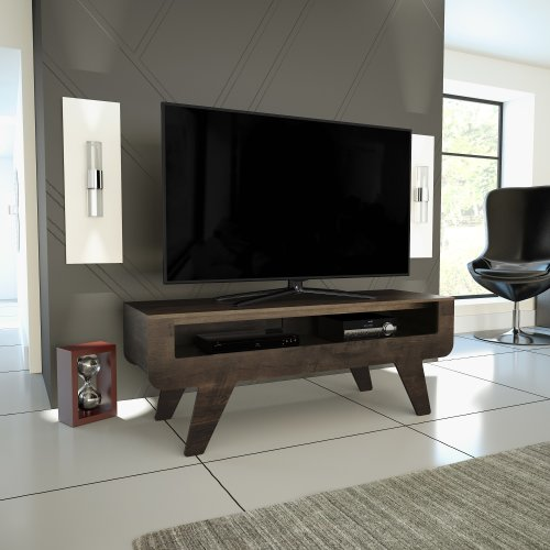 """Mahara Tapered Leg TV Stand - for TVs up to 60"""""""