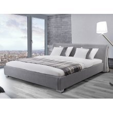 Water Bed - Super King Size - Full Set - 6 ft /180 x 200 cm - PARIS grey