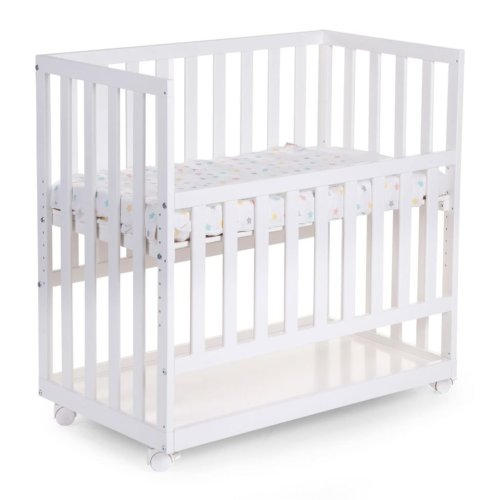 CHILDWOOD Bedside Crib 50x90 cm Beech White BSCNWI
