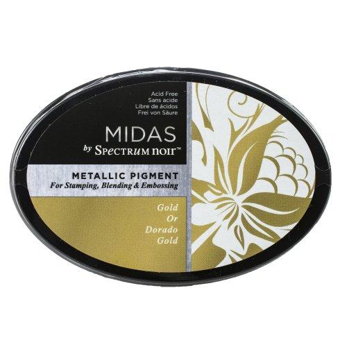 Spectrum Noir Midas Metallic Ink Pad-Gold