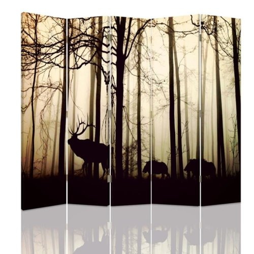 Stag Silhouette Screen/Room Divider