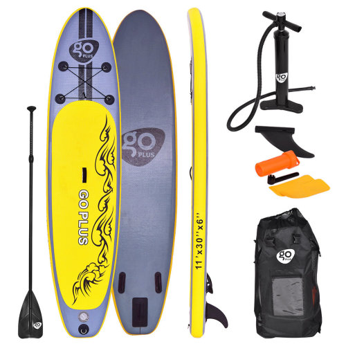 11FT SUP Inflatable Surfing Board 335X76X15 CM