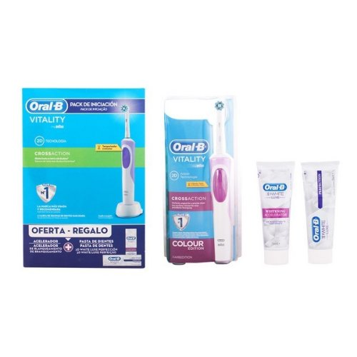 Oral Hygiene Set Vitality Crossaction Oral-B (3 pcs)