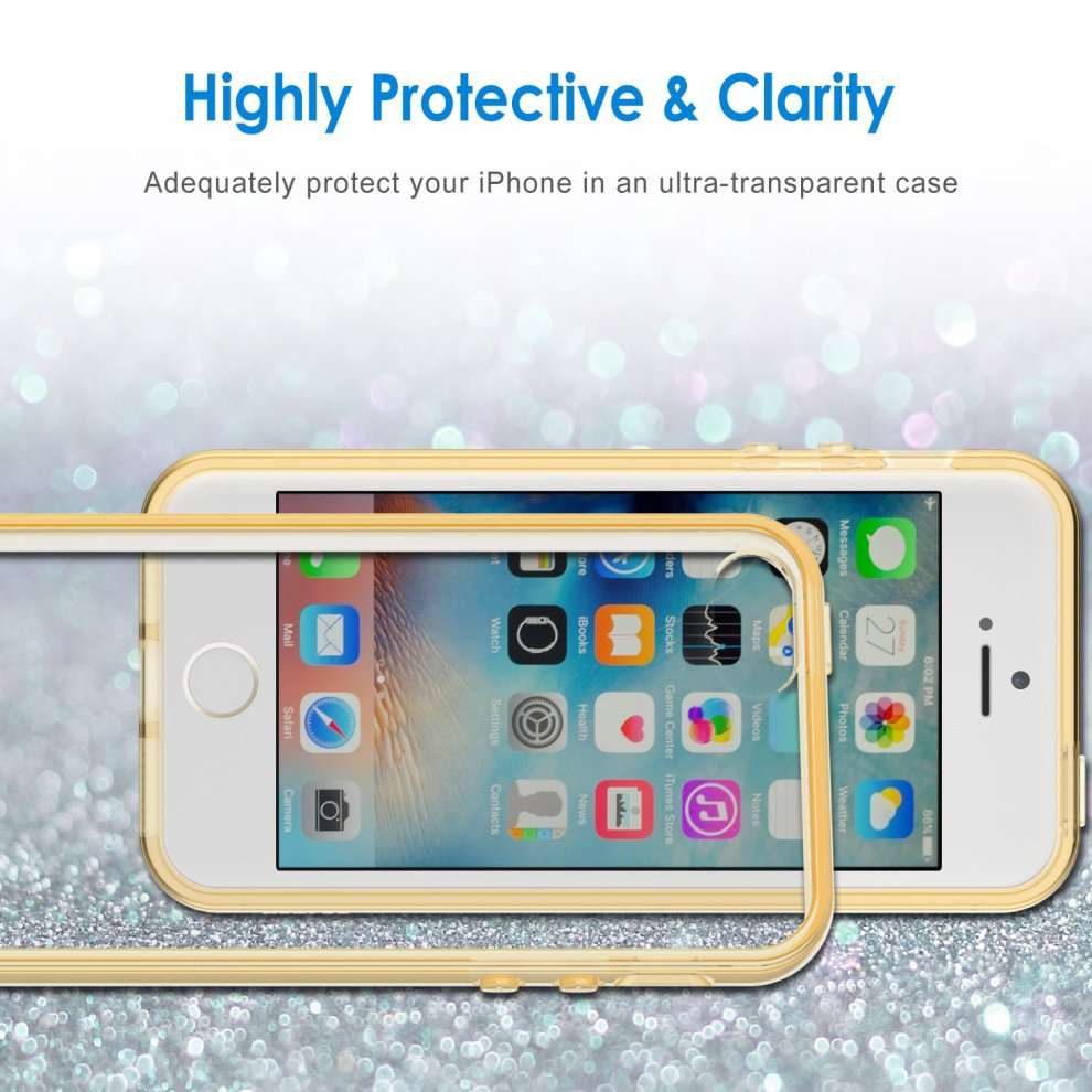 8878eb09ab ... JETech Case for Apple iPhone SE, iPhone 5s, and iPhone 5, Shock-