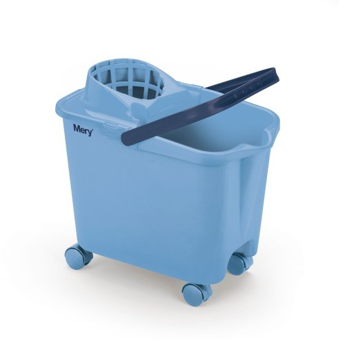 Mery Mop Bucket, Blue, 36.5 x 25.5 x 39 cm