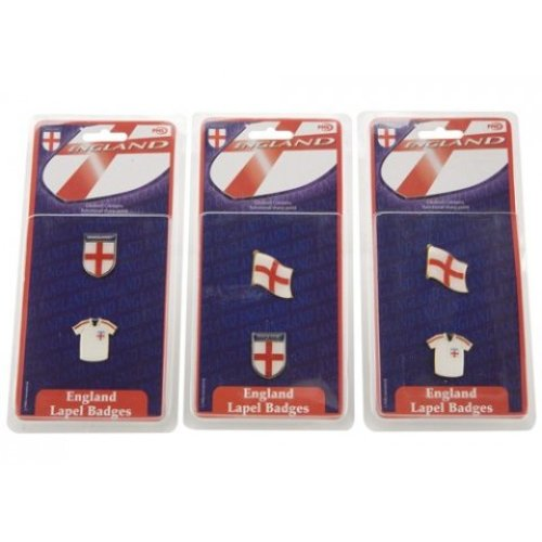 England Design Badge - Packs 2 Enameled Metal Supporters Badges George Cross -  packs 2 enameled metal england supporters badges george cross lapel