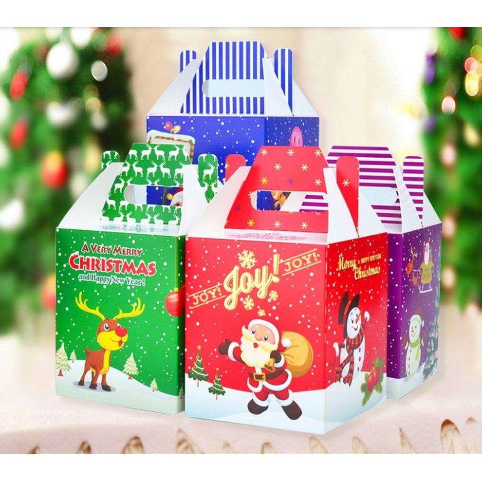 ... 10 Decorative Creative Christmas Gift Boxes, Santa Claus - 1. >