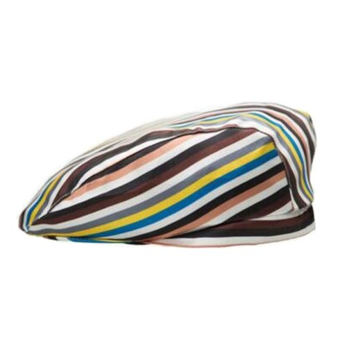 [Stripe-4] Kitchen Chef Hat Restaurant Waiter Beret Bakery Cafes Beret