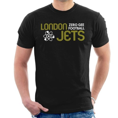 London Jets Zero Gravity Football Red Dwarf Men's T-Shirt