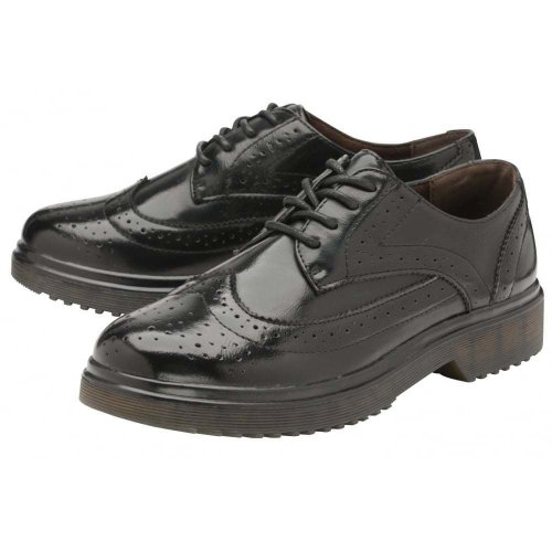 LADIES WOMENS DOLCIS DOCS INGRID BROGUES SHOE SIZE