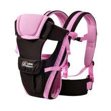 Soft Polyester Baby Carrier Best Child Baby Holding Belt Cotton belt Pink