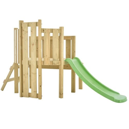 TP Toys Forest Toddler Wooden Climbing Frame and Slide Playcentre With Table Sandpit and Cover Ages 18 Months+