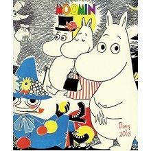 Moomin illustrated desk diary 2016