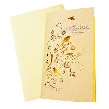 10PCS Kraft Paper Retro Greeting Cards