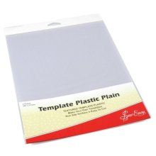 Sew Easy Template Plastic Plain. 2 Sheets each 280 x 215mm