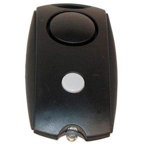 Mini Personal Alarm with Keychain, LED flashlight, and Belt Clip