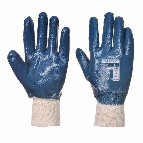 sUw - Nitrile Knitwrist Aqua Grip Glove (1 Pair pack)