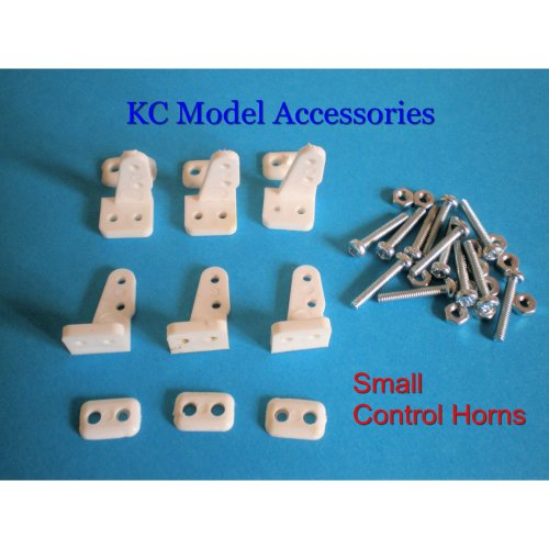 Control Horns Small x 6 Horns inc Screws & Nuts