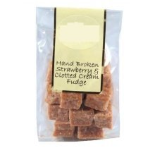 150g Bag of Strawberry and Clotted Cream Fudge