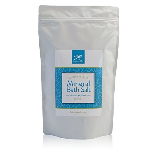 Brittany Seaweed Mineral Bath Salt by Wave Connection 2 Lb