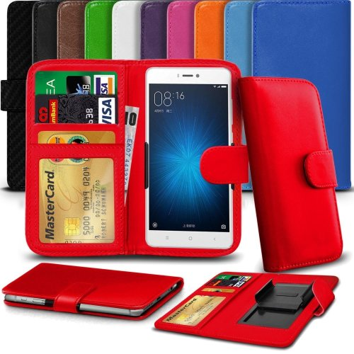 "iTronixs - Gionee S6 (5.5"") High Quality Clamp Style PU Leather Wallet Case Cover"