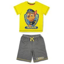 Paw Patrol T Shirt & Shorts Set - Yellow