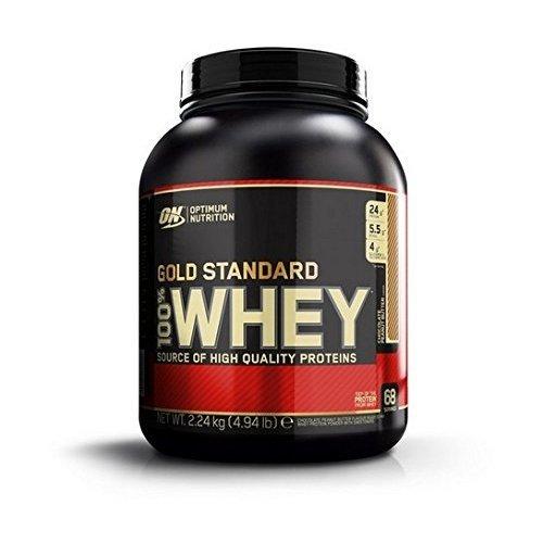Optimum Nutrition Gold Standard 100% Whey Protein Powder 2.24 kg, Chocolate P-B