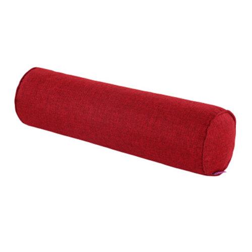Health Neck Roll Pillow Neck Pillow Car Waist Pillow Sleeping Pillow Wine Red