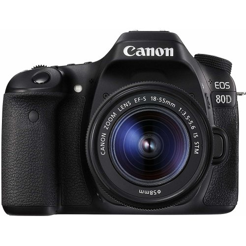 CANON EOS 80D KIT EF-S 18-55mm F3.5-5.6 IS STM