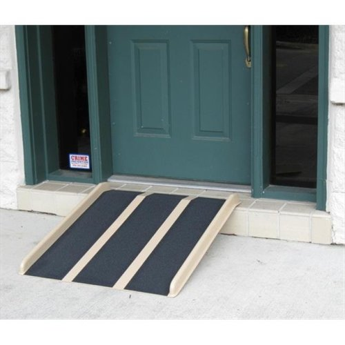 Travel Ramp 3 ft. With Extra Rubber Backing Ramp