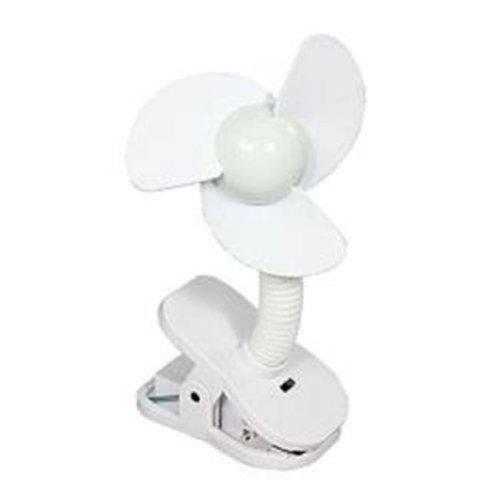 Tee-Zed Products L229 Dreambaby Stroller Fan - White
