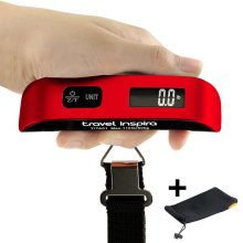 Travel Inspira Luggage Scale Temperature Display