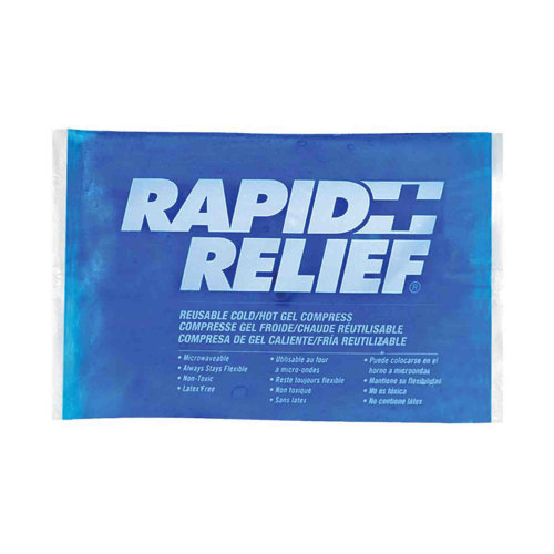 Rapid Relief Reusable Sold & Hot Gel Compress
