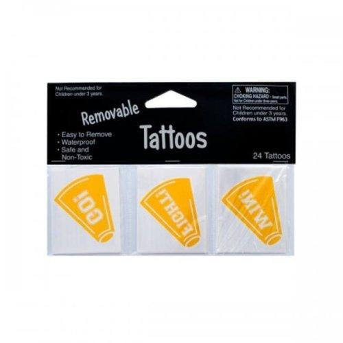 Bulk Buys Kk924 24Pk Yllw Tattoos 040269 Pack Of 24