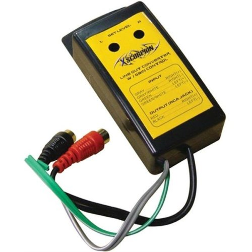 XSCORP LC08 Line Out Converter with Input Level Adjust