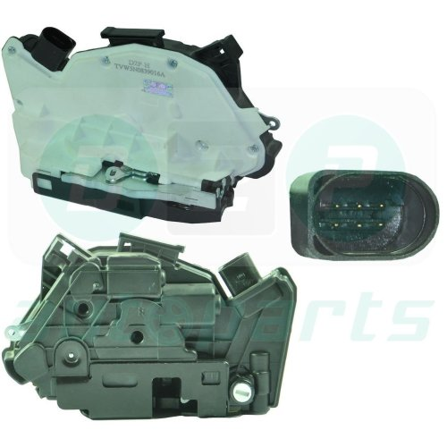For Seat Ibiza (2009-2011) Right Hand Rear Side Door Lock Mechanism 5N0839016G