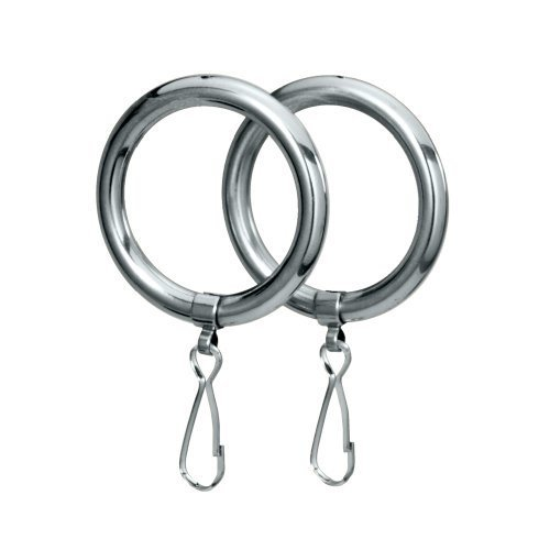 Gatco 834 Shower Curtain Ring Chrome