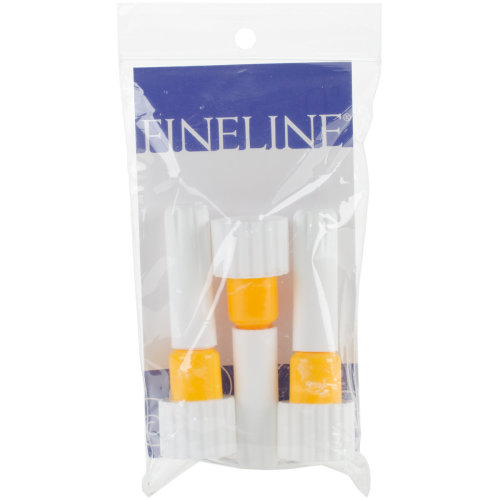 Fineline 20 Gauge Applicator Tip 3/Pkg-18/410 Yellow Band