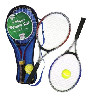 Metal Junior Tennis Set