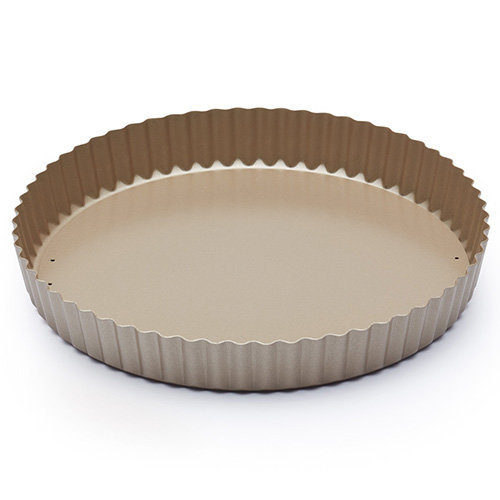 "Paul Hollywood by KitchenCraft Non-Stick Fluted Tart Tin / Quiche Pan with Loose Base, 25 cm (10"")"