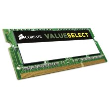 Corsair CMSO4GX3M1C1333C9 Value Select 4GB (1x4GB) DDR3 1333Mhz CL9 Mainstream SODIMM Notebook Memory Module -Green