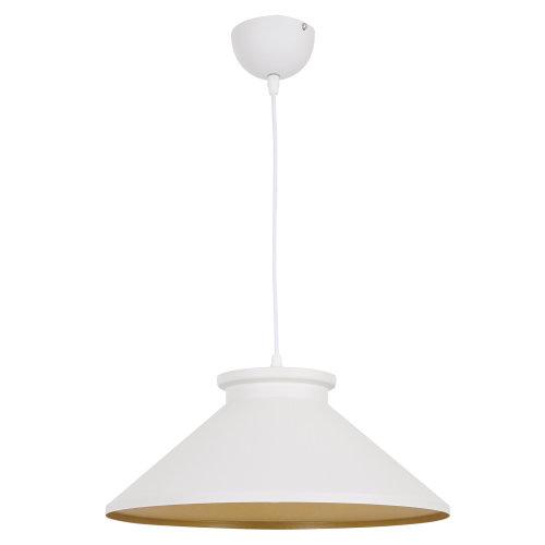 HOMCOM Retro Metal Ceiling Loft Pendant Light Shade Dining Adjustable White