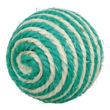 Sisal Ball, Ø 6cm - Cat Ball Toy Trixie -  sisal cat ball toy trixie